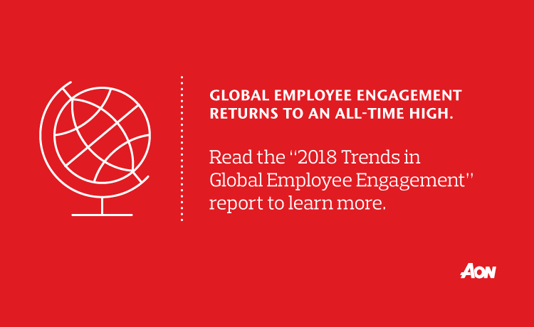 2018 Global Employee Engagement Trends Report | Aon