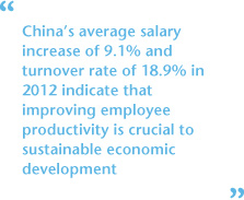 China and Hong Kong Compensation Trends and Outlook - China's Average Salary Increase