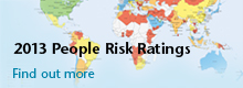 2013 People Risk Ratings