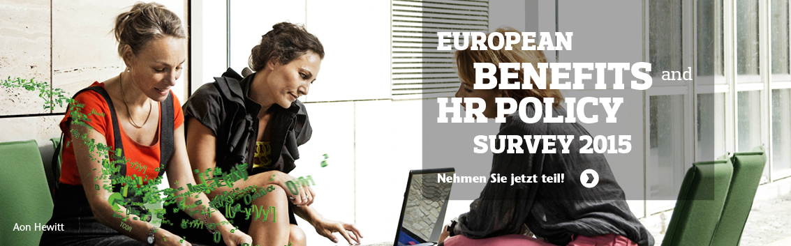 European Benefits and HR Policy Survey 2015