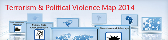Terrorism & Political Violence Map | Aon