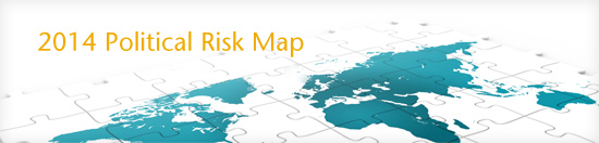 Political Risk Map 2014 | Aon