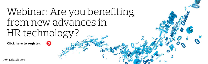 Webinar: Are you benefiting from new advances in HR technology or are you being left behind?