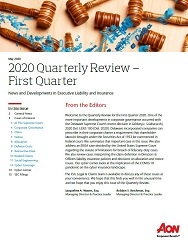 Q1 2020 FSG Legal and Claims Quarterly Review
