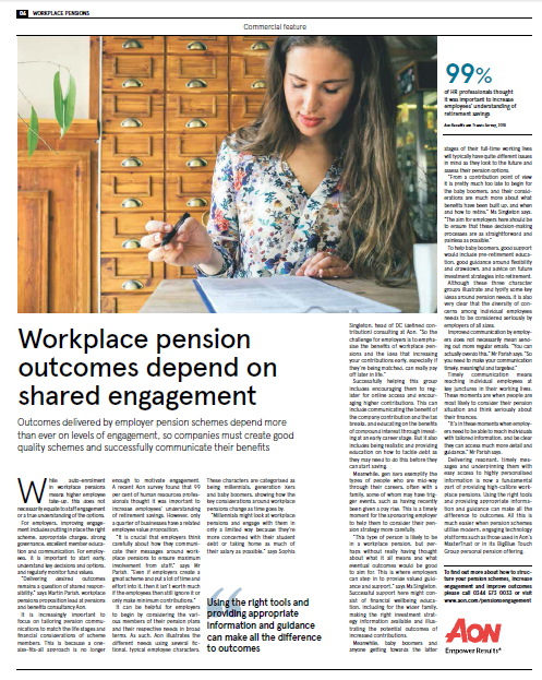 The Times Workplace Pensions Article 2018