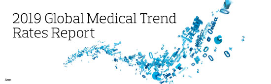 2019 Global Medical Trend Rates Report