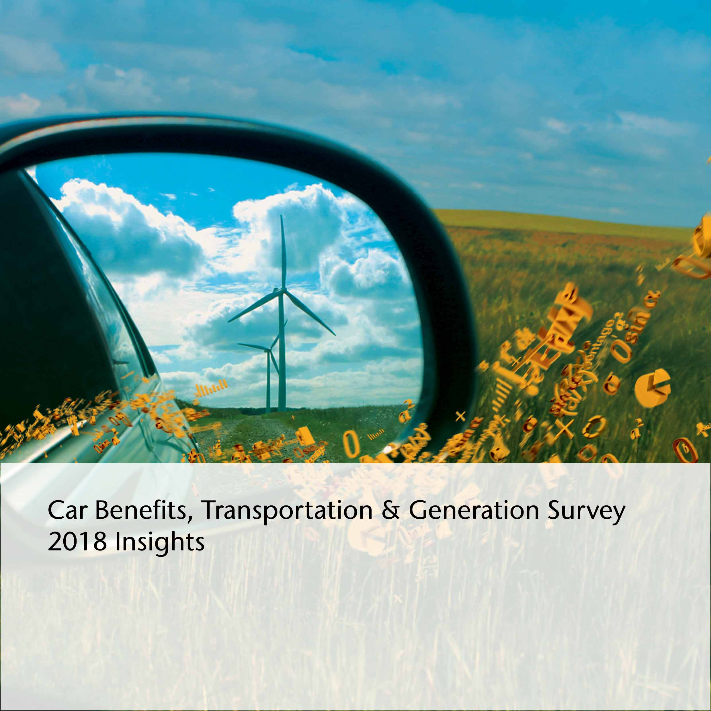 Aon Car Benefit, Transportation & Generation Survey 2018 Insights