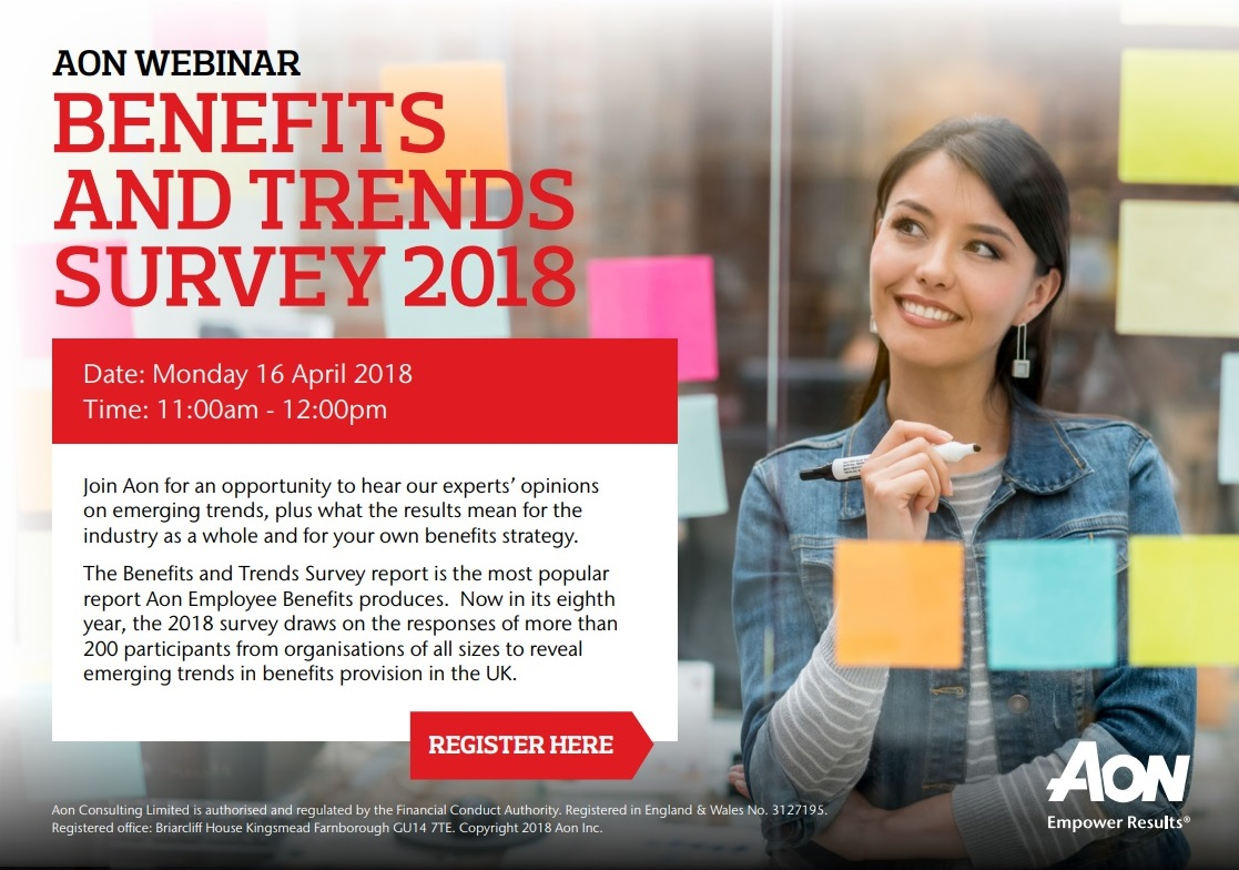 Aon Benefits & Trends Survey