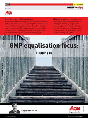 >GMP equalisation focus: Stepping up