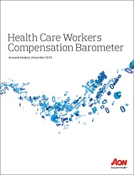Download the 2018 Health Care Workers' Compensation Barometer Report-Executive Summary (PDF)