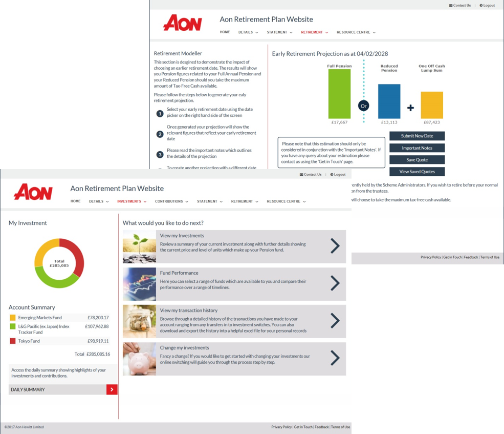 Pensions Admin Overview