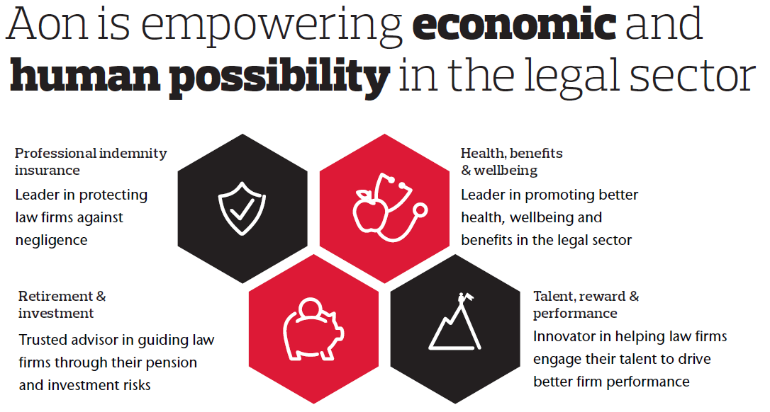 Aon is empowering economics and human possibility in the legal sector