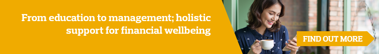 Financial Wellbeing strategy banner