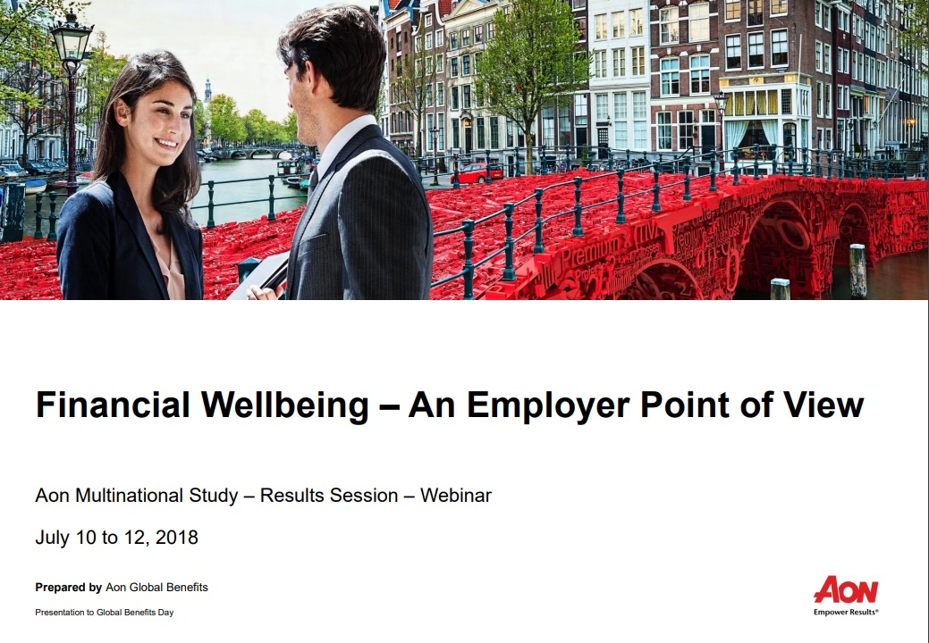 Financial Wellbeing – An Employer Point of View