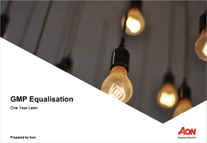 GMP Equalisation Webinar - One Year On