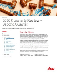 Q2 2020 FSG Legal and Claims Quarterly Review