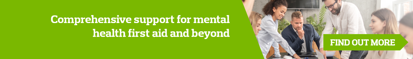 Mental Wellbeing strategy banner