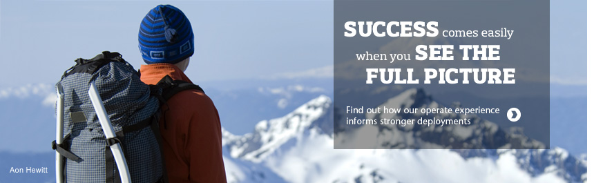 Success comes easily when you see the full picture. Find out how our operate experience informs stronger deployments.