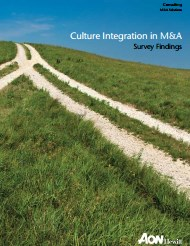 Culture Integration in M&A