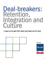 Deal-breakers: Retention, Integration & Culture