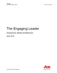 The Engaging Leader