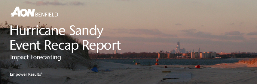 Hurricane Sandy Event Recap Report