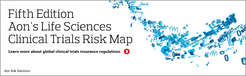 2015 Life Sciences Clinical Trials Risk Map