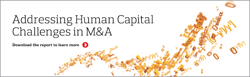 Addressing Human Capital Challenges in  M&A: The Total Rewards Perspective