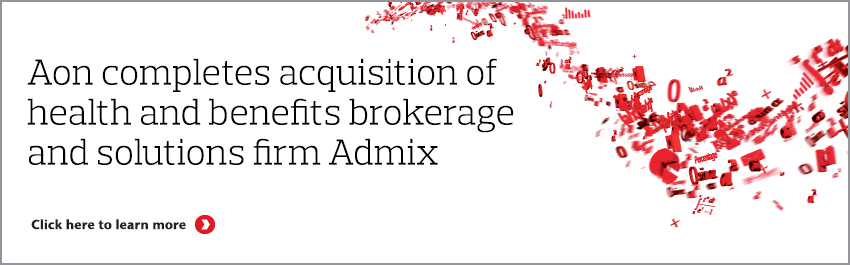 Aon completes acquisition of Admix