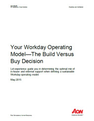 Workday Operating Model