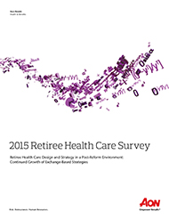 2015 Retiree Health Care Survey
