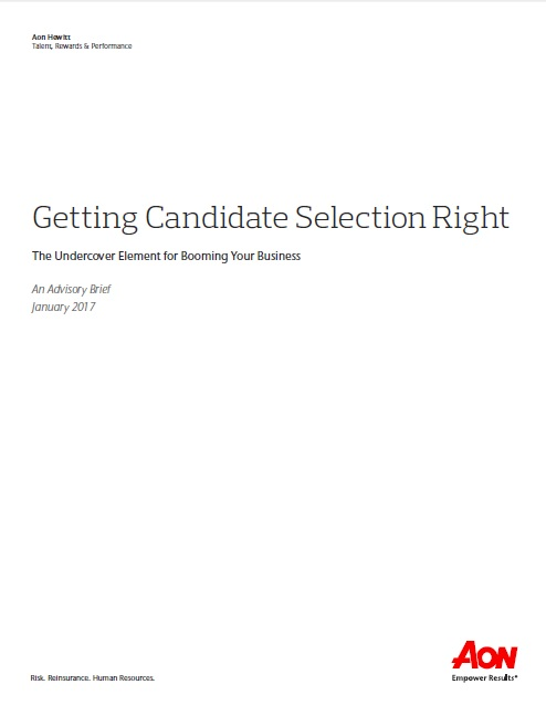 Getting Candidate Selection Right