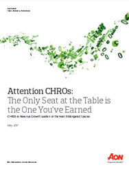 Driving Organic Revenue Growth:What Role Should the CHRO Play?
