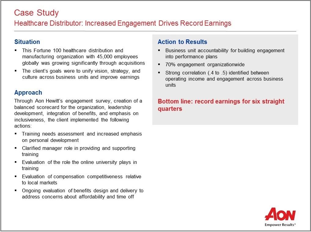 employee engagement case studies hospitality