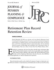 Retirement Plan Record Retention Review