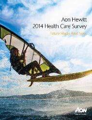 Aon Hewitt 2014 Health Care Survey