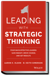 Leading with Strategic Thinking book cover