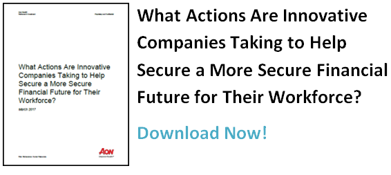 What Actions Are Innovative Companies taking to Help Secure a More Secure Financial Future for Their Workforce?