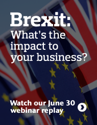 Watch a replay of our webinar for insights on the impact of   Brexit on your Risk, Retirement, Health, and Talent strategies.