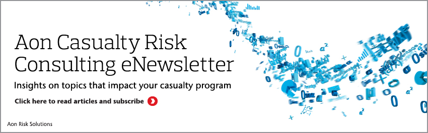 Aon Casualty Risk Consulting eNewsletter