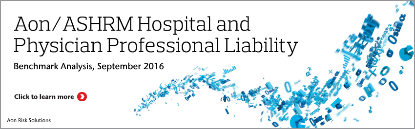 2016 Hospital and Physician Professional Liability Benchmark Analysis