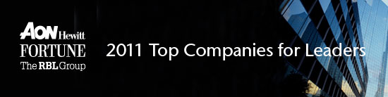 2011 Top Companies for Leaders: Winners and Special Recognition