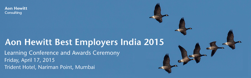 Aon Hewitt Best Employers Learning Conference & Awards Ceremony - India 2015
