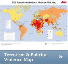 Risk maps 2015 aon political violence map en political risk map uit de kaarten kunnen worden gezien als een graadmeter voor de dreiging van politiek geweld terrorisme en sciox Gallery