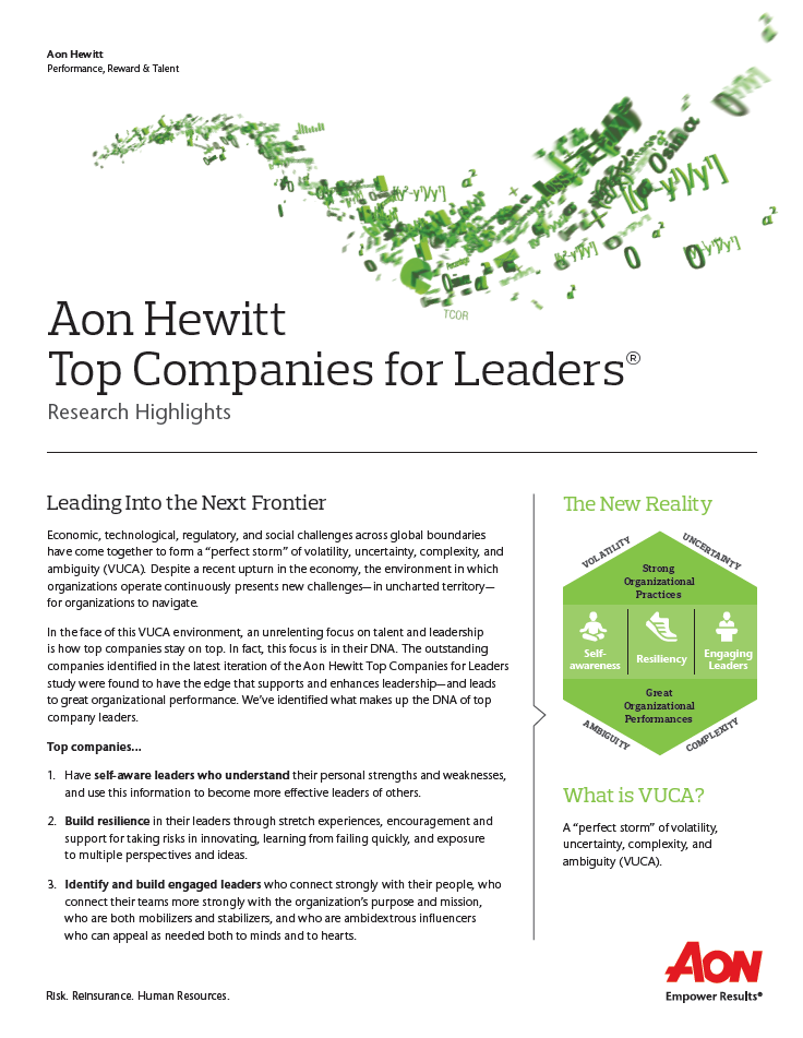 Top Companies for Leaders