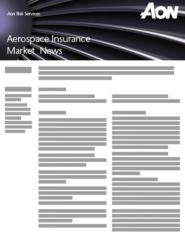 Aerospace Insurance Market News