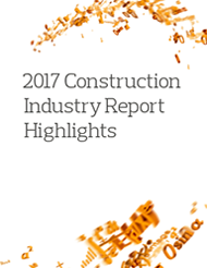 2017 Construction Industry Report Highlights