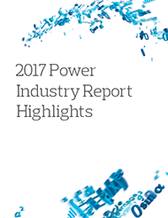 2017 Power Industry Report Highlights