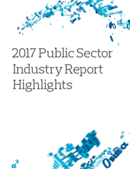 2017 Public Sector Industry Report Highlights