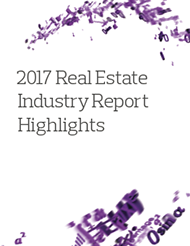 2017 Real Estate Industry Report Highlights